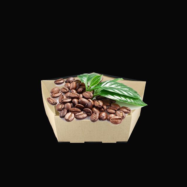 kartonowe opakowanie do kawy