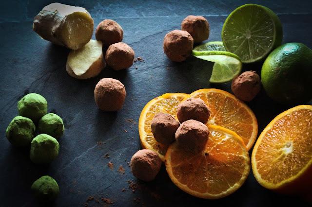 recette-truffe-lavande,recette-truffe-orange,recette-truffe-gingembre,recette-facile