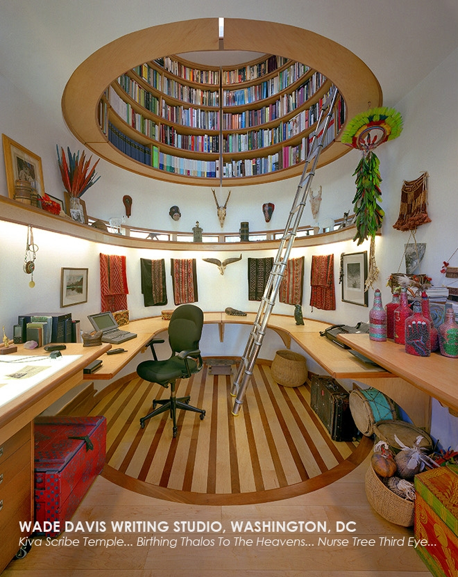 01-Travis-Price-Architecture-in-Writing-Studio-with-Dome-Shaped-Library-www-designstack-co
