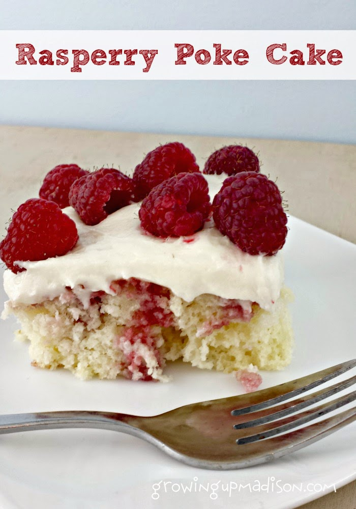 raspberry poke cake raspberry poke cake with almond cheese frosting 6961