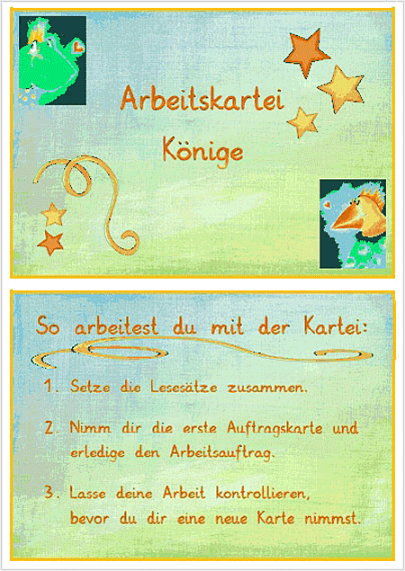 Abstrakta-Kartei – Kings of Love Motive Sonja Mengkowski