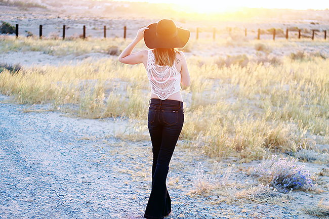 Summer Style: Flares & Crop Top