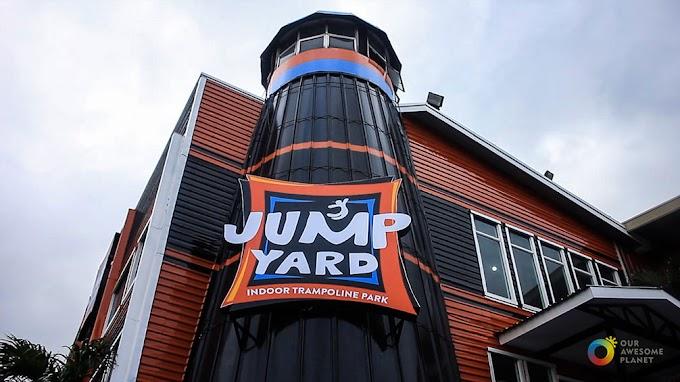 Jump All You Can at Jump Yard!