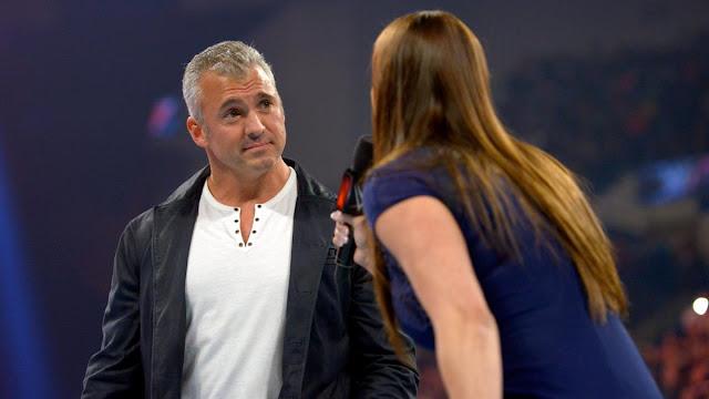 La guerre fait rage entre Shane McMahon et Stephanie McMahon