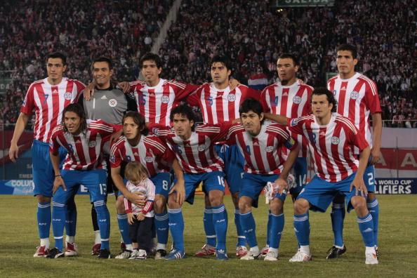 Formación de Paraguay ante Chile, Clasificatorias Sudáfrica 2010, 6 de junio de 2009