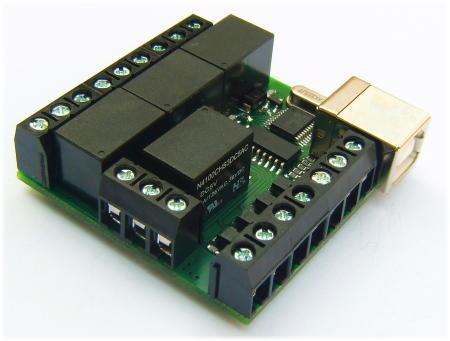 Simple USB Relay – I O Modules
