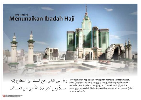 Dalil Keutamaan-keutaman Beribadah Umroh dan Haji