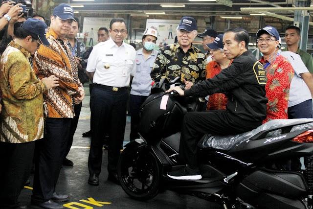 Industri Sepeda Motor 'Ngegas' Pasar Ekspor