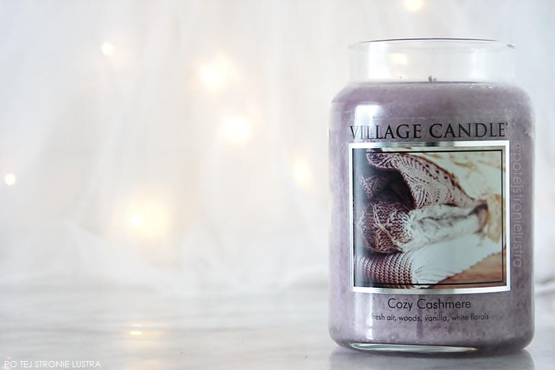 świeca zapachowa village candle cozy cashmere