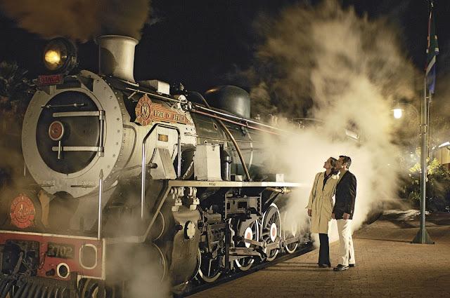 Rovos Rail, Dampflokomotive