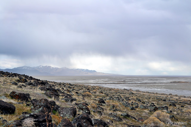 views from Spiral Jetty