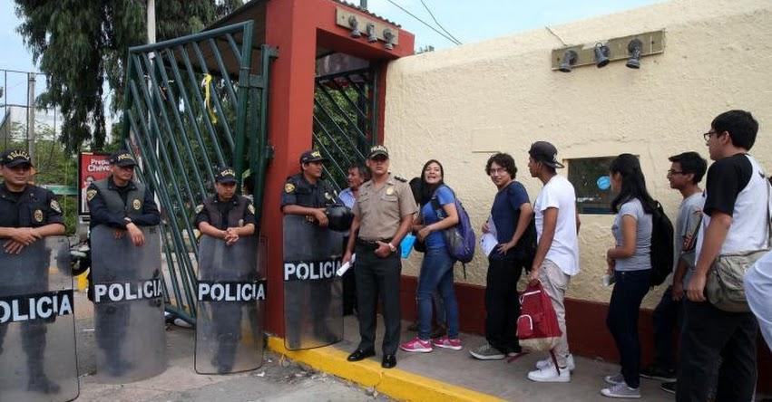 UNMSM: 46 % de estudiantes de Universidad San Marcos proviene de colegios privados