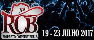 Agenda Shows 2017 Rio Preto Country Bulls Programação