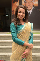 Tejaswi Madivada looks super cute in Saree at V care fund raising event COLORS ~  Exclusive 073.JPG