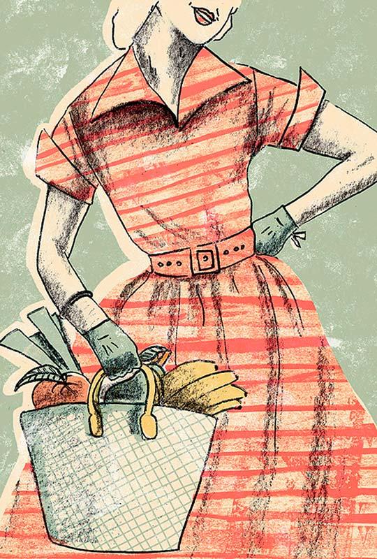 Ilustración de Evelyn Prentice