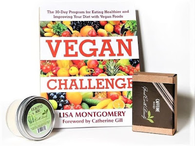 Vegan Challenge by Lisa Montgomery & Good Earth Beauty candle & soap
