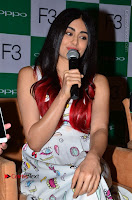 Bollywood Actress Adah Sharma Pos in White Printed Short Dress at OPPO F3 Plus Selfie Expert Mobile Launch .COM 0023.jpg