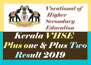 VHSE +1 Results 2019, VHSE +2 Results 2019, VHSE 1st Year Result 2019, VHSE 2nd Year Result 2019