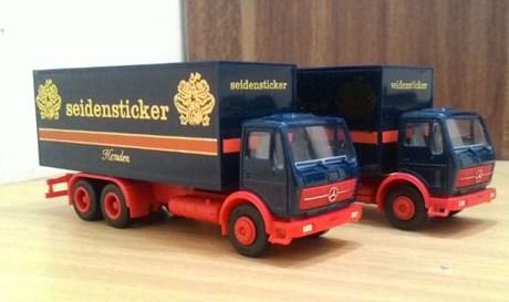 miniatur truk tronton terbaik dan keren