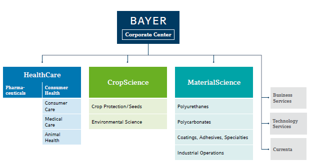 Visible Business Bayer Group Structure 2014
