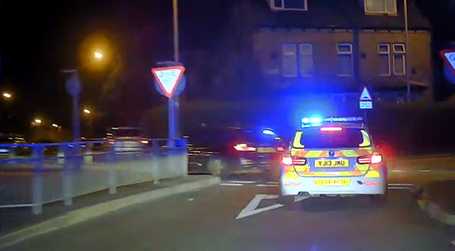 Driver jailed after hitting 90mph in 30-zone in police chase