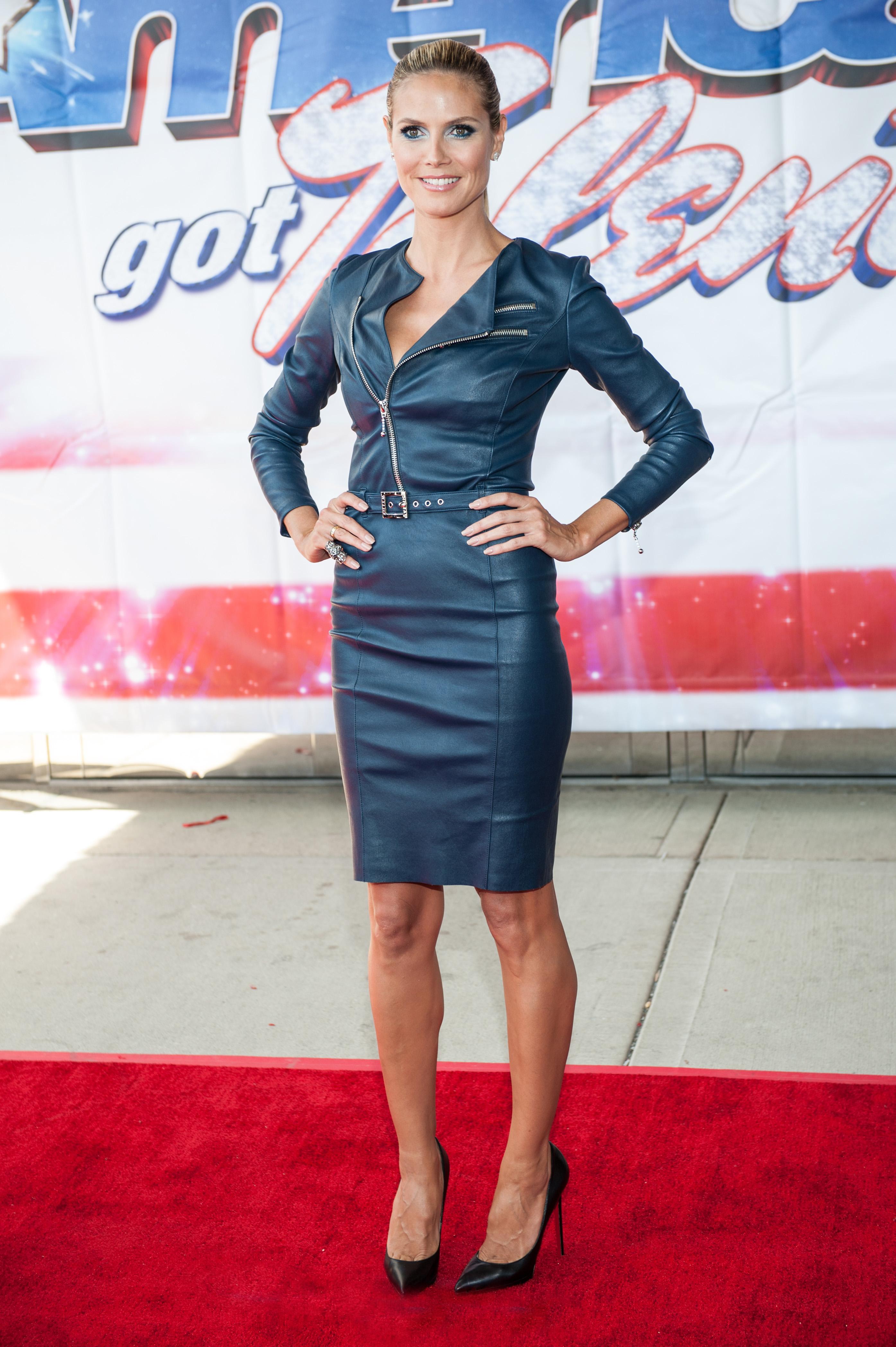 The Toe Cleavage Blog Tall Women Week Two Heidi Klum
