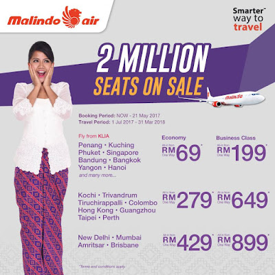 Malindo Air Sale Flight Ticket Discount Promo