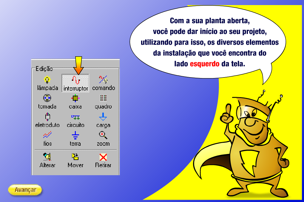 intera software de eletricistas