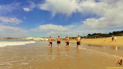 Corrida mar Albufeira - runcrosstrail