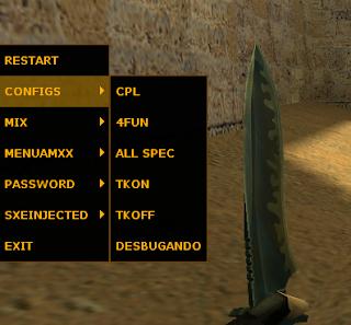 CommandMenu 4Fun e Mix CS 1.6