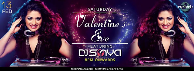 Valentine's Eve at Club Reverb in Noida with DJ Sonya