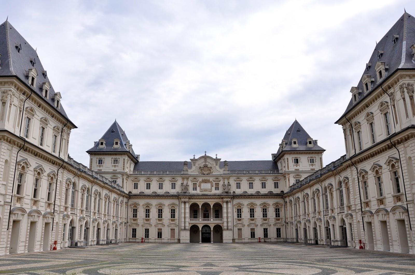 Palazzo Valentino, Parco Valentino, Turin, Italy
