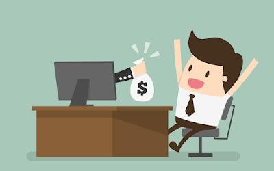 Cari uang di Internet
