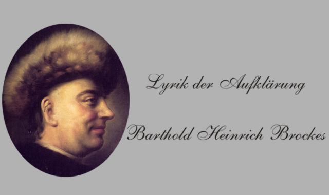 B.H.Brockes Biografisches
