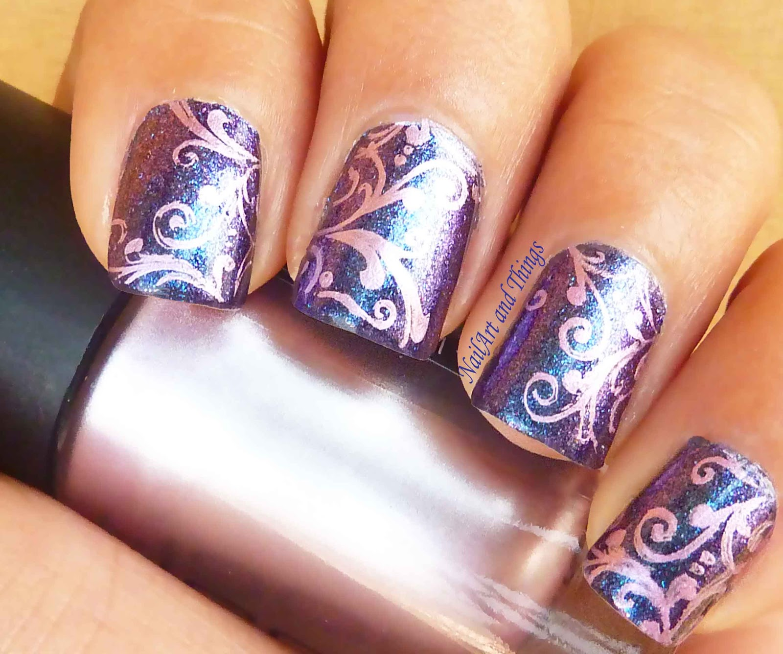 Alternatives For Nail Stamps Embellishing Nails Is The Nail Art