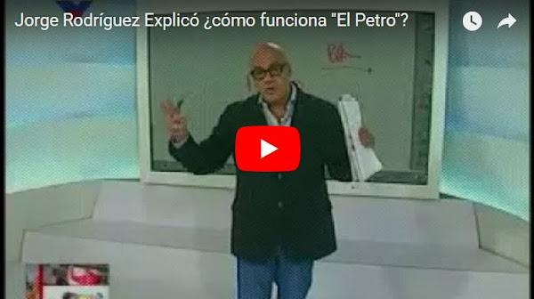 Jorge Rodríguez explica cómo se produce el fraude con las criptomonedas