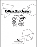 love2learn2day: Pattern Block Lessons K-5, Free (Meet CCSS!)