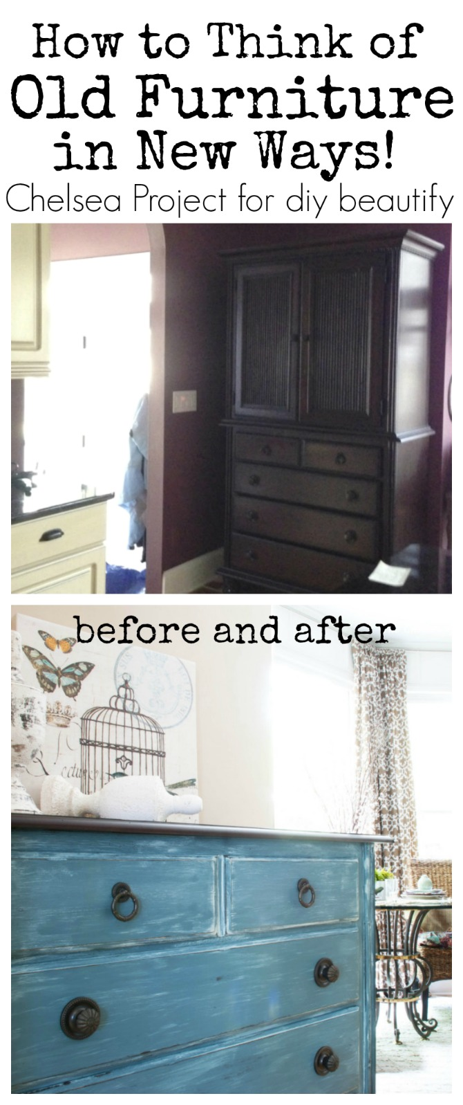 Ideas to repurpose old furniture in new ways