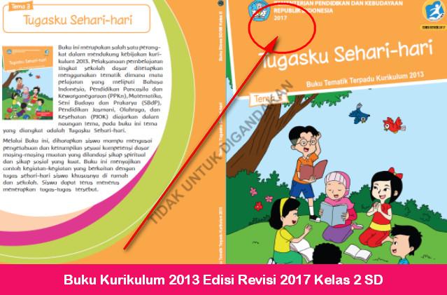 Buku Kurikulum 2013 Edisi Revisi 2017 Kelas 2 SD