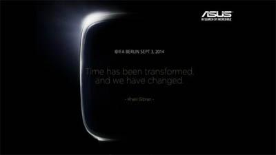 Asus Siap Ungkap Smartwatch Berbasis Android Wear di IFA 2014