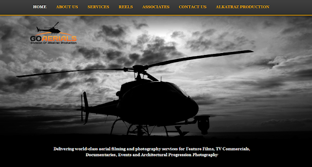 Trusted provider of professional aerial filming, cinematography, and photography services