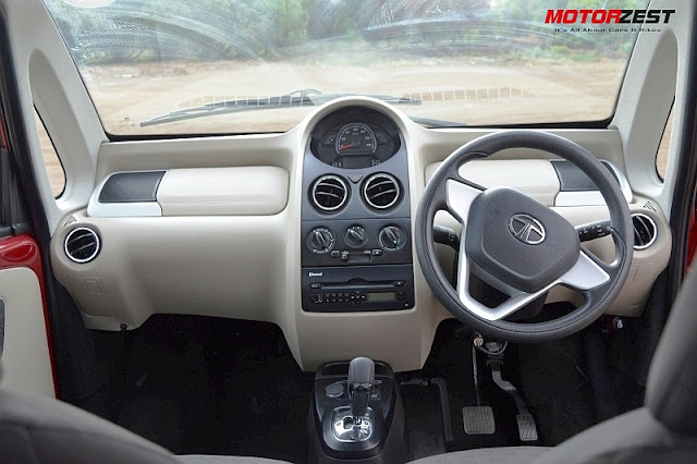 Tata Nano GenX Easy Shift Review Interiors