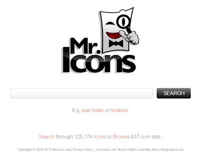 Mr. Icons: buscador de iconos gratuito