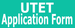 UTET Application Form