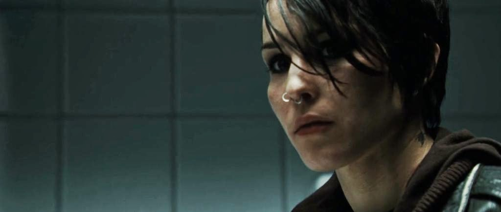 Screen Shot Of Hollywood Movie The Girl with the Dragon Tattoo (2009) In Hindi English Full Movie Free Download And Watch Online at worldfree4u.com