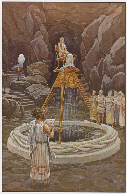 Pythia, the Delphi Oracle . J. Augustus Knap