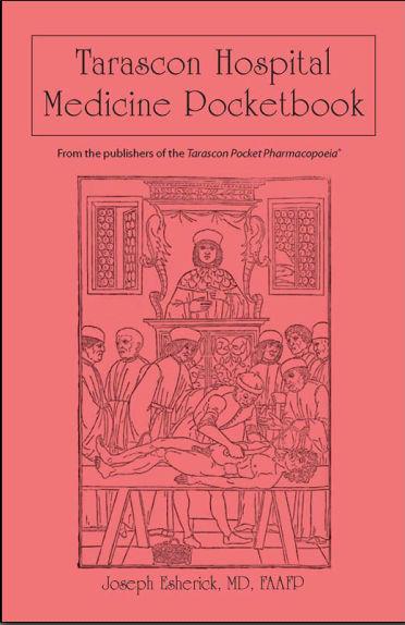 Tarascon Hospital Medicine Pocketbook [PDF