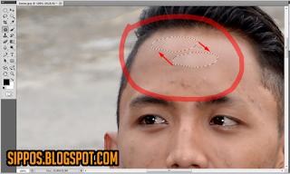 trik cara menghilangkan pada photoshop