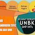 Aplikasi UNBK Android Tahun 2017 Untuk Jenjang SMP, SMA Dan SMK