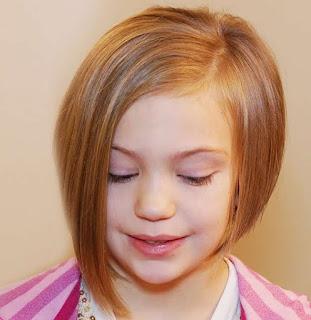 Model Rambut Bob Pendek Anak Perempuan